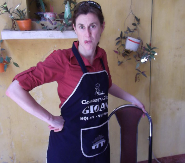Learning to cook in Vietnam