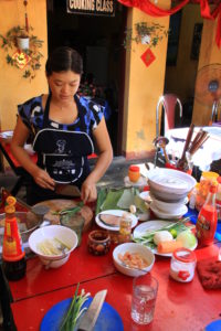 Learning to cook in Hoi Ann, Vietnam
