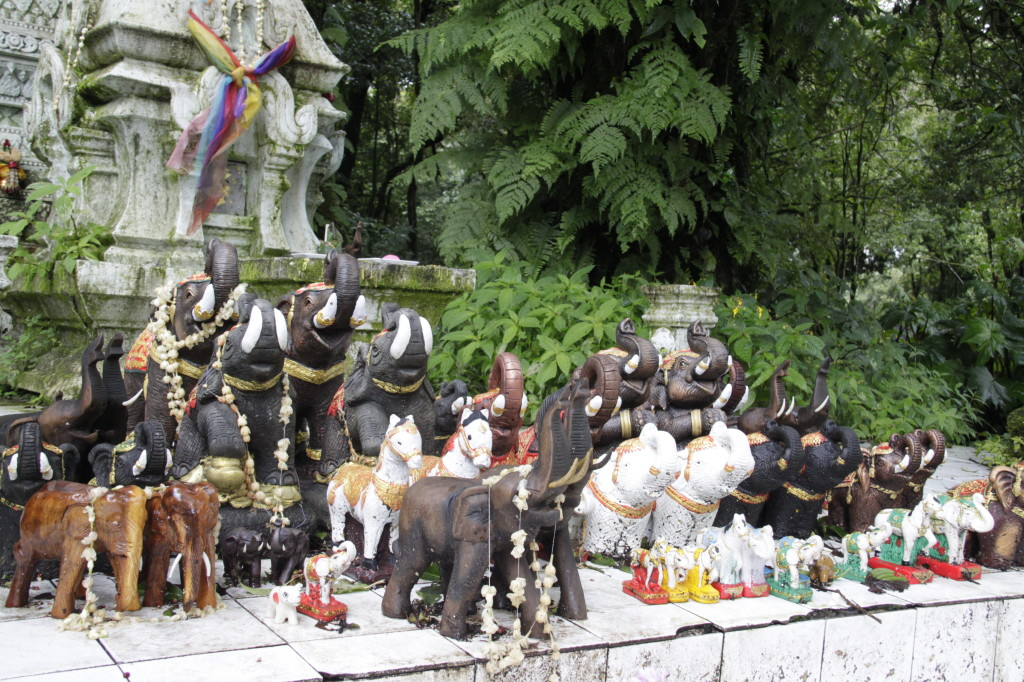 Temple at the summit of Doi Inthanon
