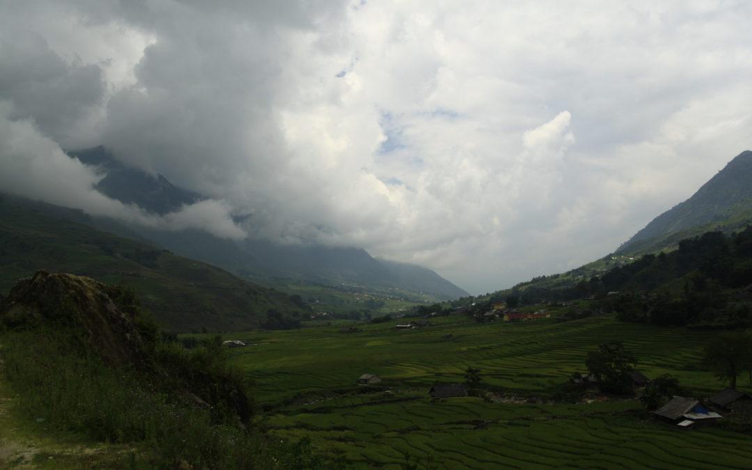 The mountains of Sapa (Vietnam)