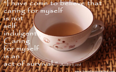 Self-care – an act of survival