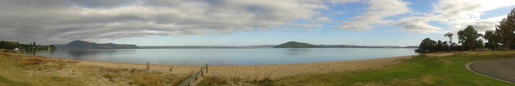 Holden's Bay, Rotorua. Around the corner from where I camped.