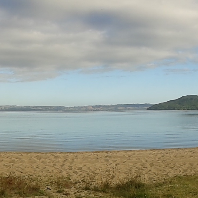 Lake Taupo is a beauty. I stayed at Motutere Bay camp spot. A perfect view but beware the noisy trucks at night!