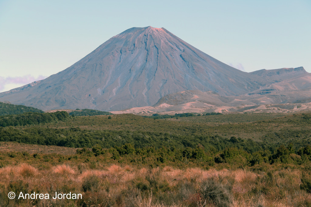 Mount Ngauruhoe (you might know it as Mt Doom)