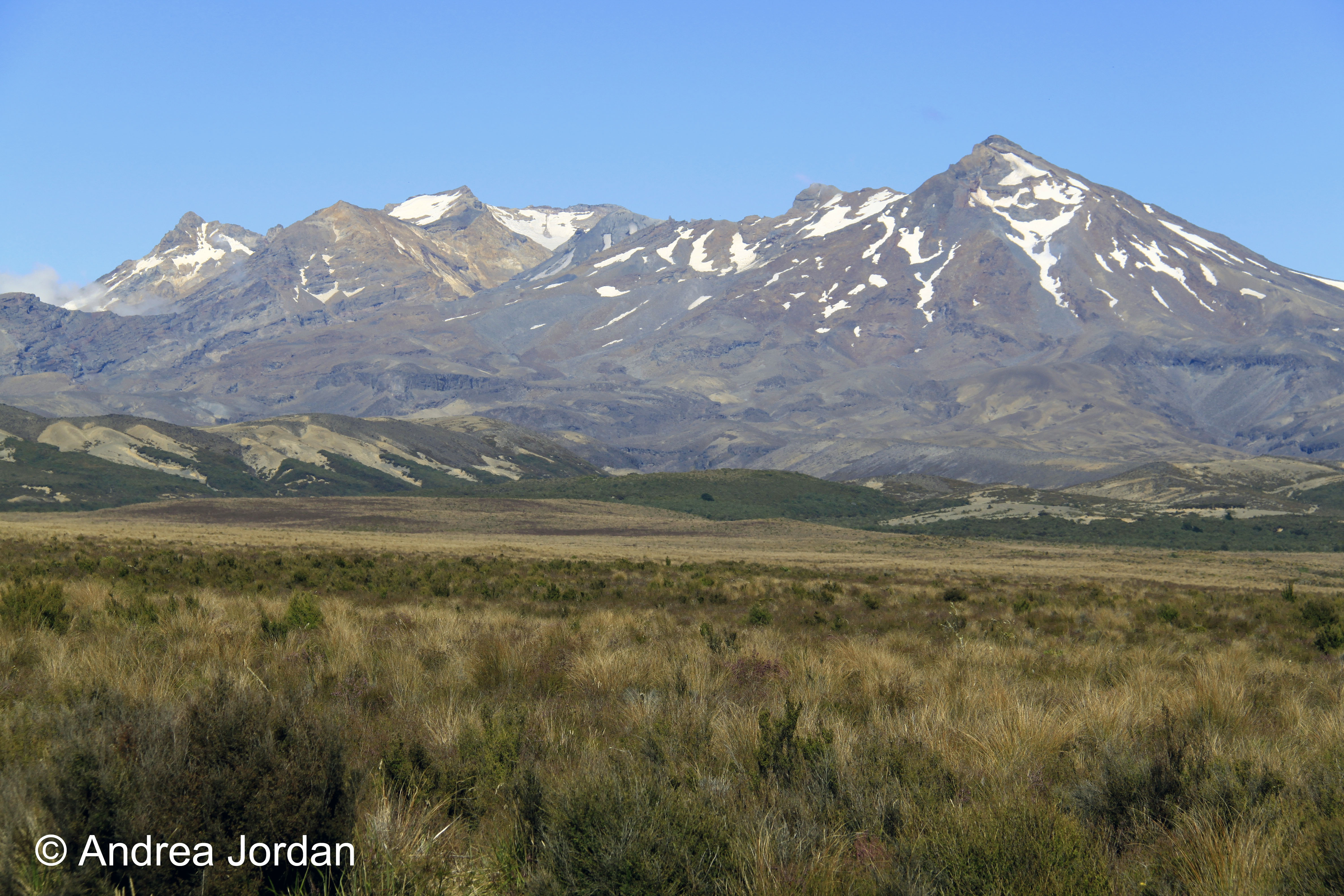 Tongariro, part of the Central Plateau of the North Island