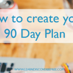How to create your 90 Day Plan