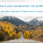 What is your entrepreneur risk profile?