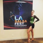 Performing at the LA Salsa Festival