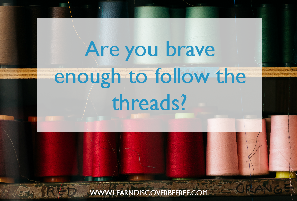 Are you brave enough to follow the threads?