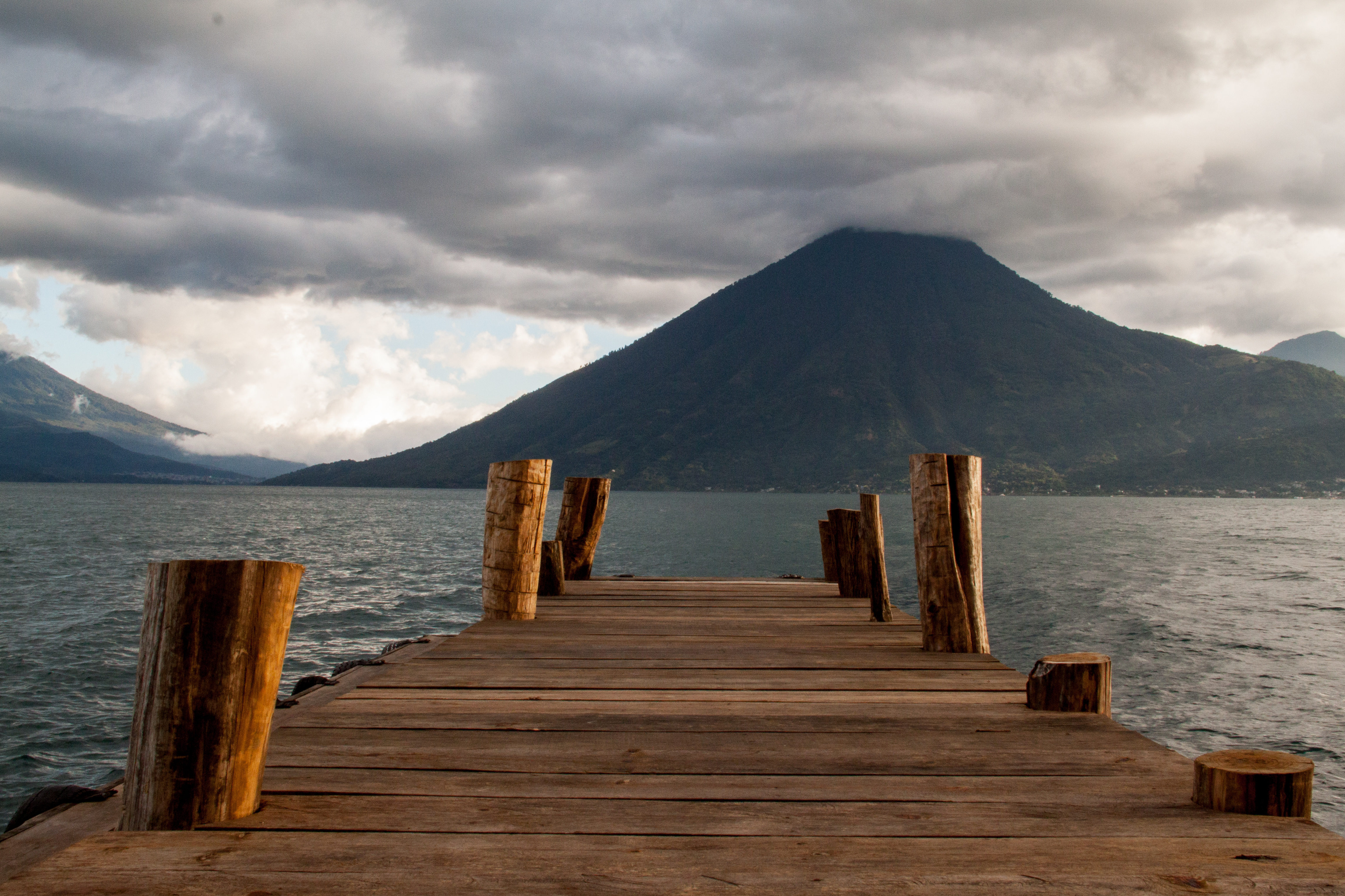 In my backyard . . . San Marcos, Lake Atitlan Guatemala