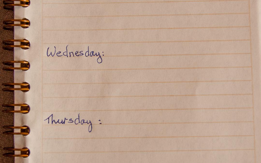 How I Plan My Week (& Avoid Getting Overwhelmed)