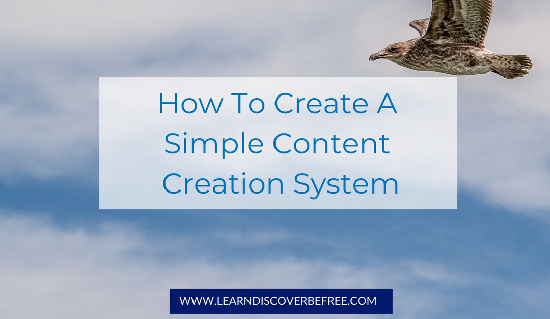 How To Create A Simple Content Creation System