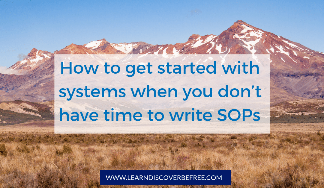 get started with systems