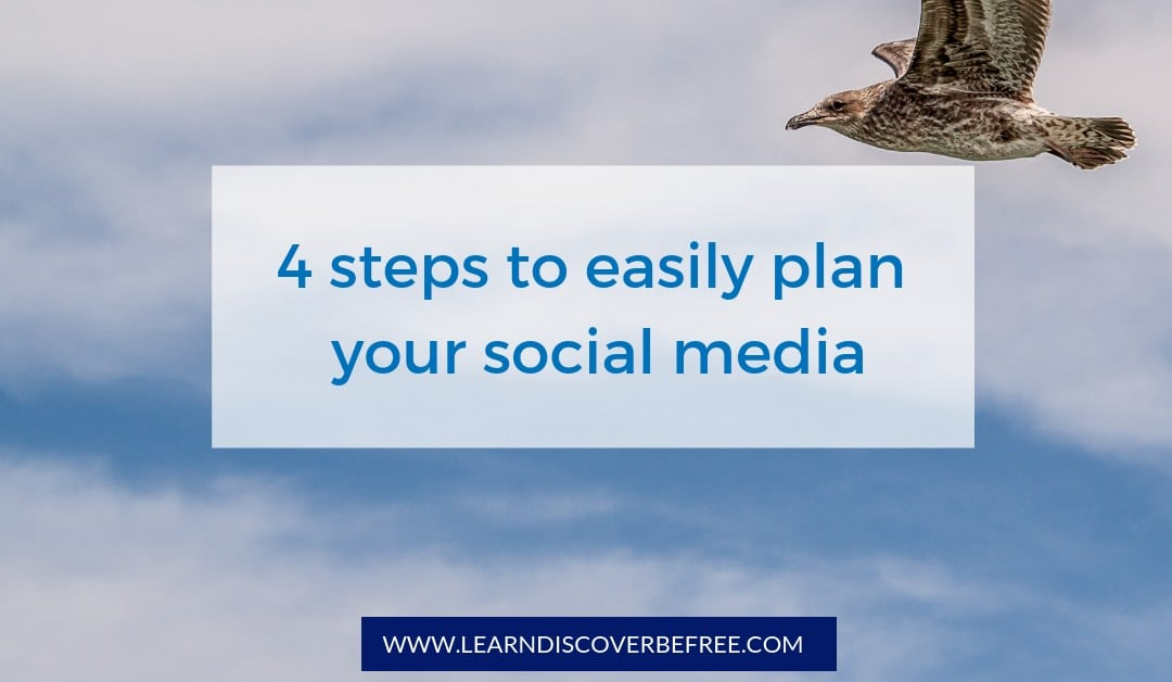 4 steps to easily plan your social media