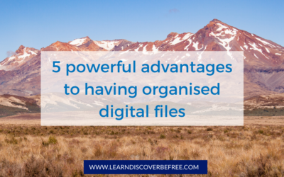 5 powerful advantages to having organised digital files