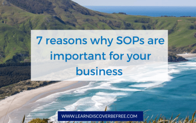 7 reasons why SOPs are important for your business